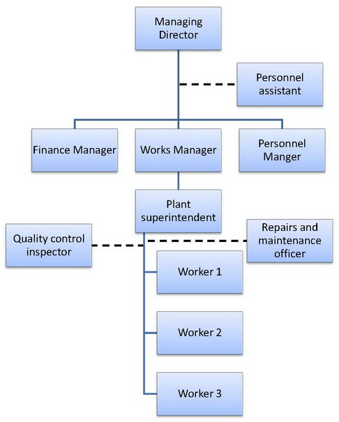 line and staff organisation