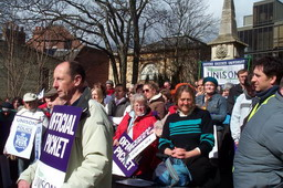 unison strike at oxford