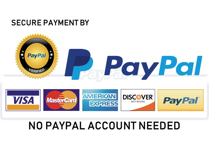 PAYPAL VERIFIED AND SECURED